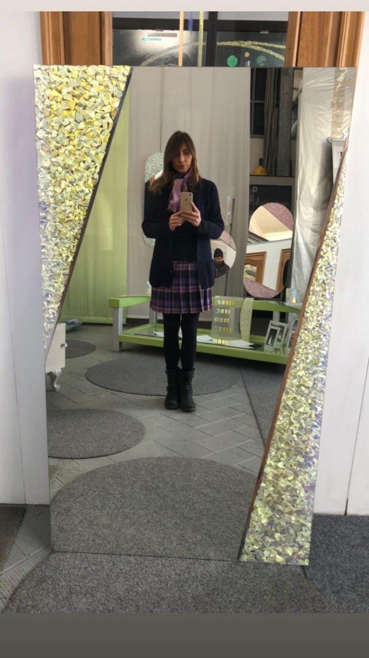 Specchio Cristina Estetista Cinica